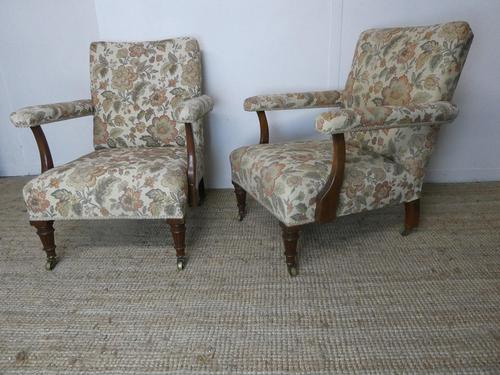Pair of 19th Century Armchairs (1 of 8)