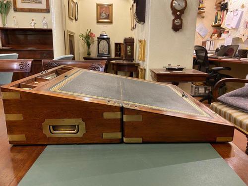 Mid 19th Century Mahogany Writing Box (1 of 7)
