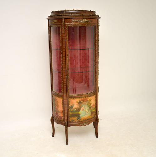 French Style Ormolu Mounted Display Cabinet (1 of 12)