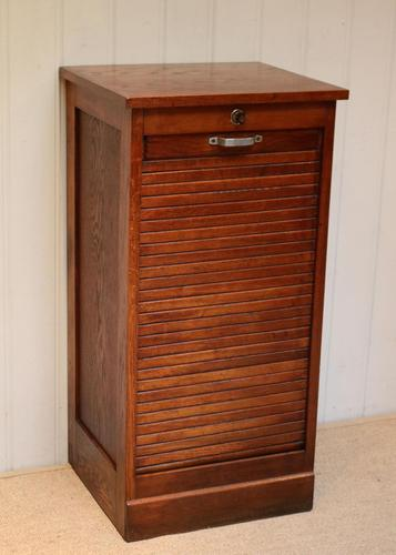 French Oak Filing Cabinet (1 of 9)