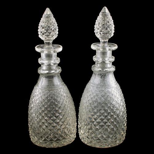 Pair of Georgian Decanters (1 of 8)