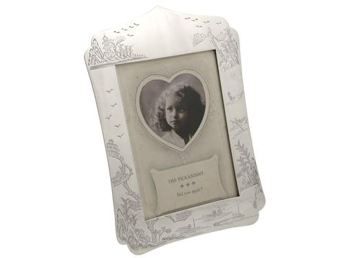 Chinese Export Silver Photograph Frame - Antique c.1890 (1 of 12)