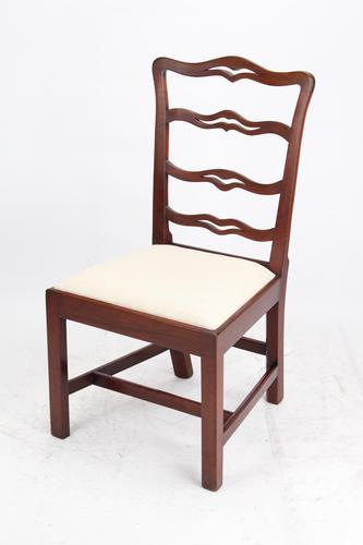 Georgian Mahogany Ladderback / Desk Chair (1 of 13)