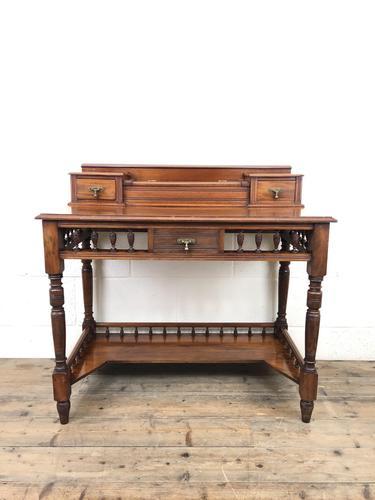 Antique Edwardian Mahogany Desk (1 of 12)