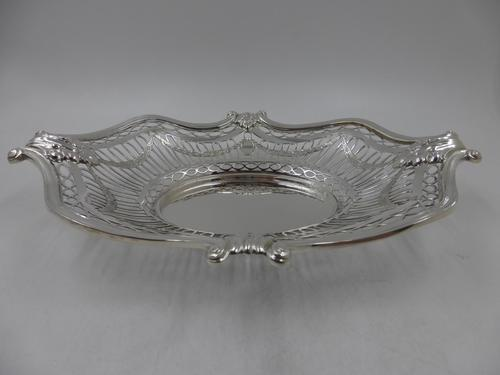 Antique Silver Dish London 1904 (1 of 8)