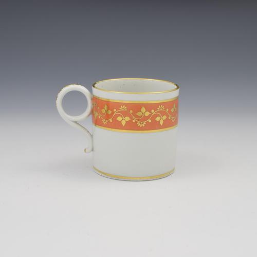 Barr Period Worcester Porcelain Coffee Can c.1805 (1 of 6)