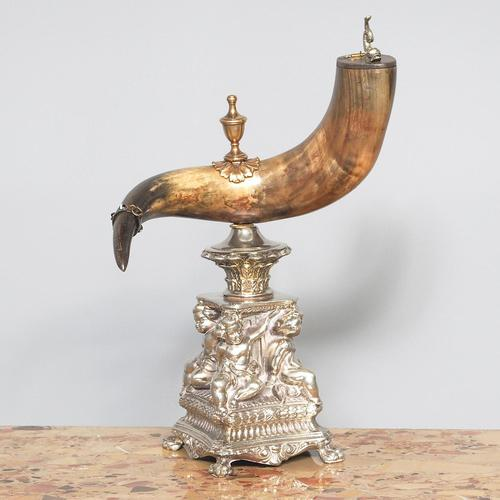 Swedish Mounted Horn Trophy (1 of 7)