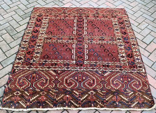 Antique Yomud Ensi 192x121cm (1 of 4)