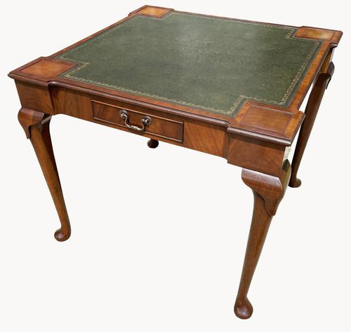 Unusual Games / Card Table in Mahogany (1 of 5)