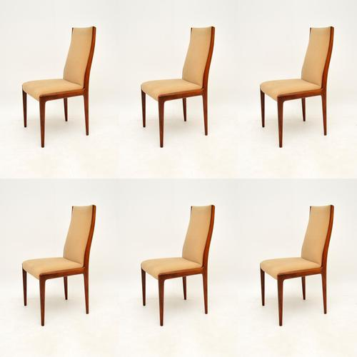 Set of 6 Danish Rosewood Vintage Dining Chairs (1 of 11)
