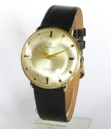Gents 1960s Services Wrist Watch (1 of 5)