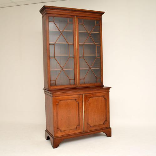 Antique Georgian Period Mahogany Library Bookcase (1 of 10)