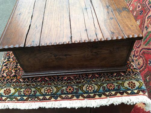 Antique Late 17th Century Oak Desk Box (1 of 4)