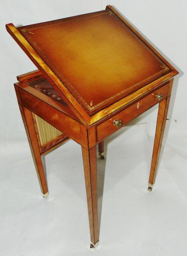Georgian Satinwood Ladies Writing Table (1 of 8)