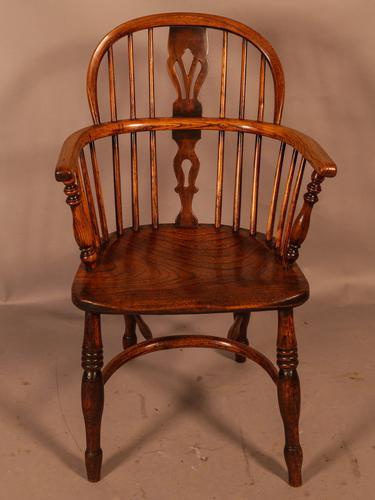 Ash & Elm Low Back Windsor Chair Rockley (1 of 8)