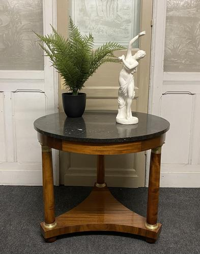 French Marble Top Empire Centre Table (1 of 16)