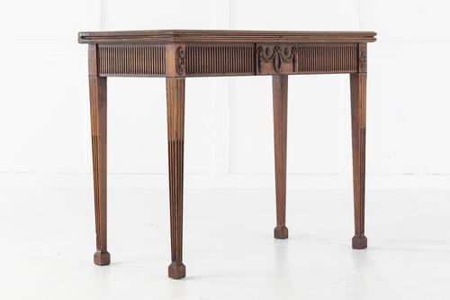 18th Century George III Mahogany Tea Table (1 of 10)
