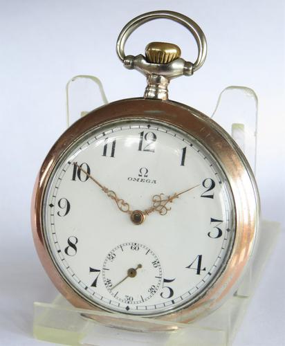Antique Omega pocket watch, c1917 (1 of 5)