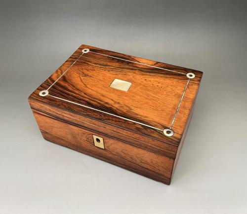 Gorgeous William IV Jewel/sewing Box (1 of 5)