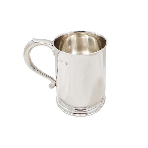 Heavy Vintage Sterling Silver Pint Mug / Tankard 1948 (1 of 8)
