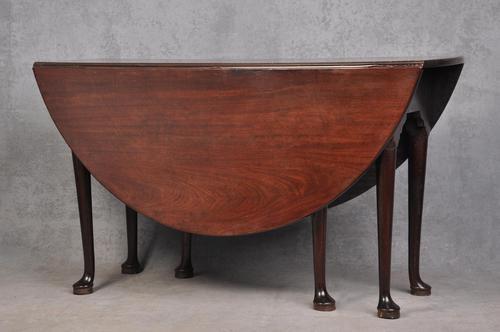 Fine 18th Century Mahogany Gateleg Table (1 of 9)