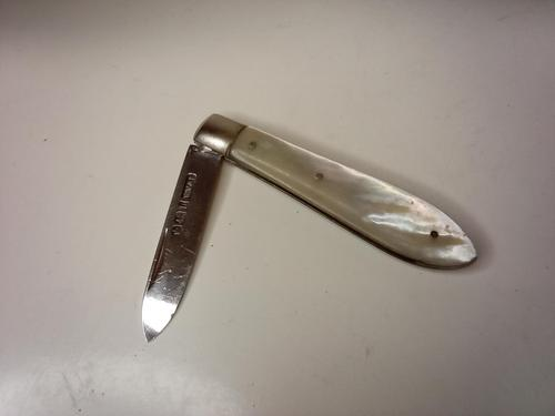 Silver Bladed Fruit Knife, 1919 (1 of 5)