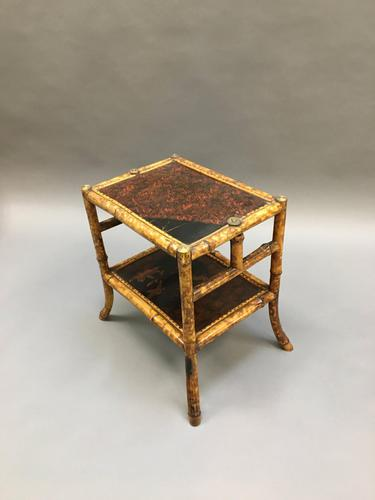 Victorian Bamboo Side Table (1 of 9)