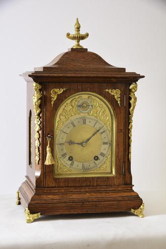 Superior W&H Ting-Tang Bracket Clock (1 of 5)