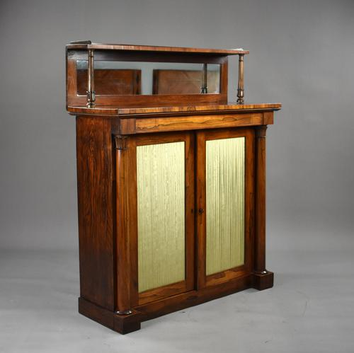 19th Century Regency Rosewood Chiffonier (1 of 9)
