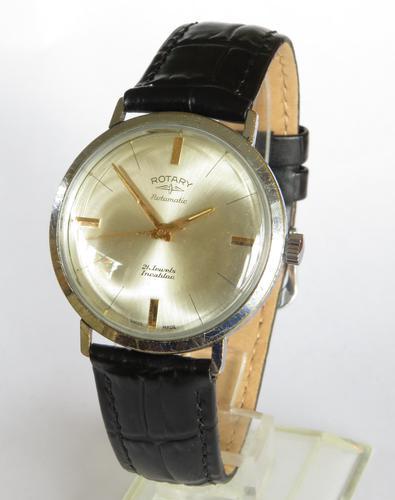 Gents Rotary Rotamatic wrist watch, c1960 (1 of 5)