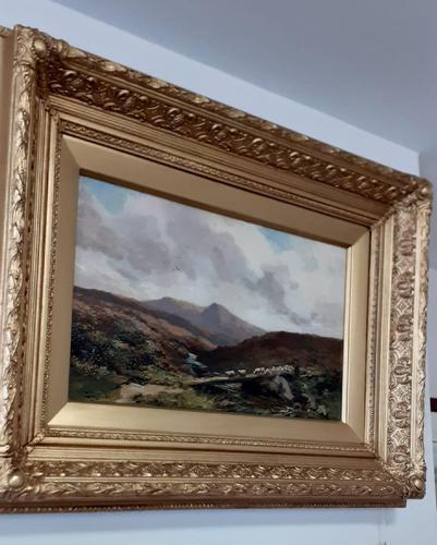 A Moorland Bridge - Oil Painting (1 of 5)