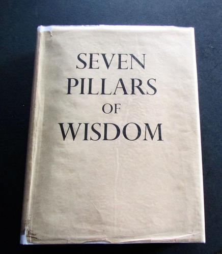 1935  1st Edition Seven Pillars of Wisdom, A Triumph  by T E Lawrence (1 of 5)