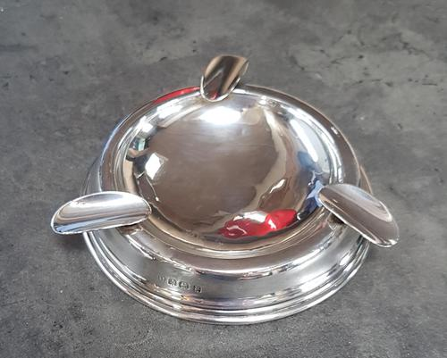 Sterling Silver Ashtray (1 of 4)