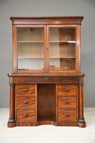 Antique Victorian Mahogany Gentlemans Dressing Table Bathroom Cabinet (1 of 12)