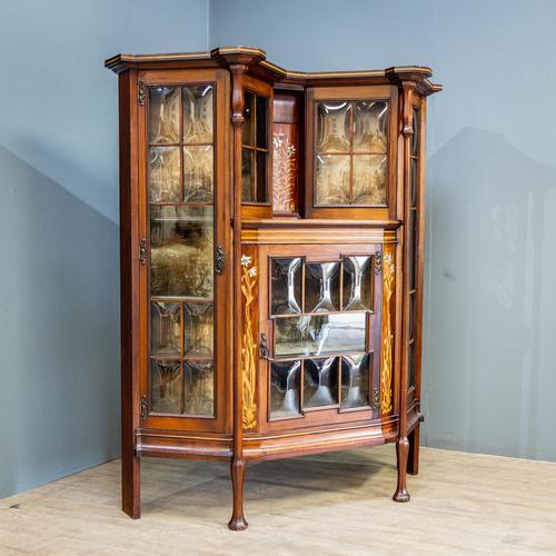 Art Nouveau Display Cabinet (1 of 11)