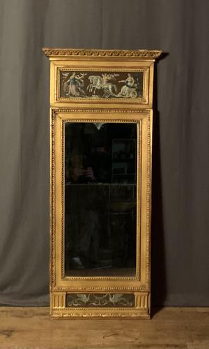 Swedish Gustavian Period Giltwood Pier Mirror (1 of 11)