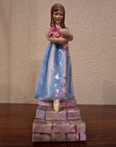 "Royal Worcester ""Rose Maiden"" Figure (1 of 5)"