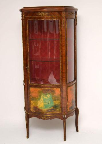 Antique French Style Ormolu Mounted Display Cabinet (1 of 13)