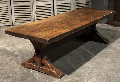 Huge Rustic Chestnut French Farmhouse Dining Table (1 of 27)