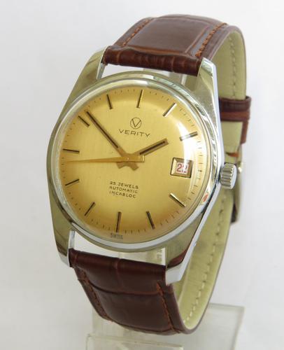 Gents 1960s Verity Wrist Watch (1 of 5)