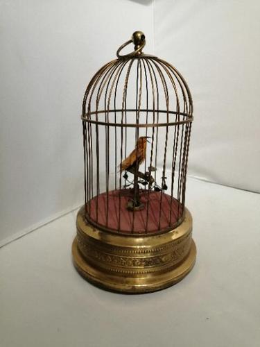 French Style 'singing Bird' Automaton (1 of 7)
