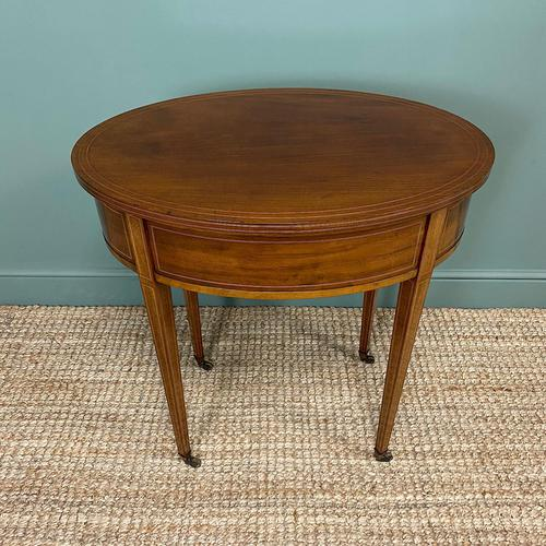 Stunning Victorian Shoolbred Mahogany Antique Centre Table (1 of 6)