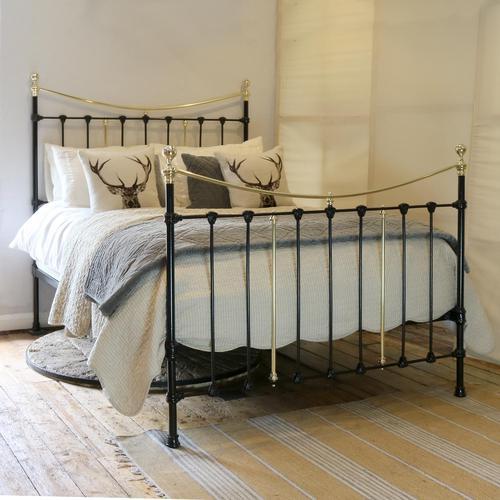 Antique Bed in Black (1 of 6)