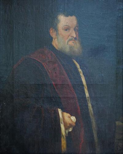 Antique 17th Century Portrait of a Gentleman (1 of 8)