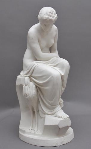 19th Century Parian Figure of Solitude (1 of 11)