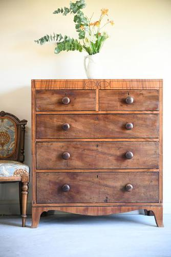 Antique Mahogany Chest of Drawers (1 of 12)