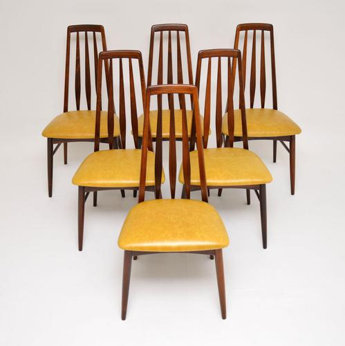 Set of 6 Danish Rosewood Dining Chairs by Niels Koefoed (1 of 12)