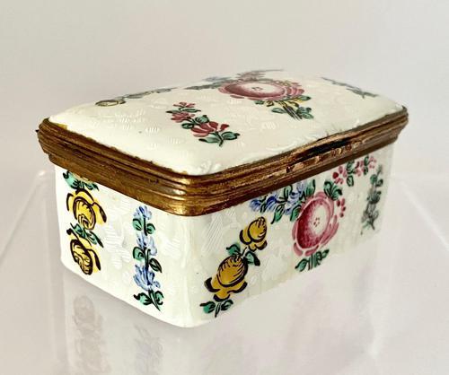 Immaculate Bilston Box c.1800 (1 of 8)