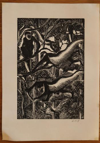 Monkeys in a tree by Kathleen Mary Bell (1 of 4)