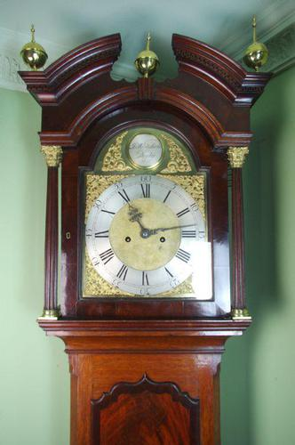Whitehurst Derby Mahogany Longcase Clock (1 of 9)